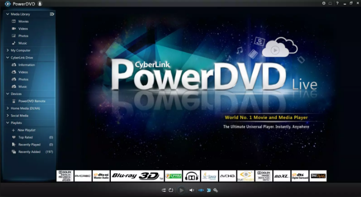 Download PowerDVD 2018.17.0