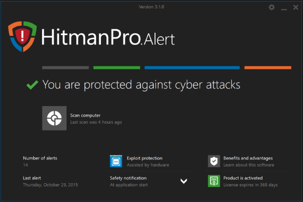 Download HitmanPro Alert 2018 Latest