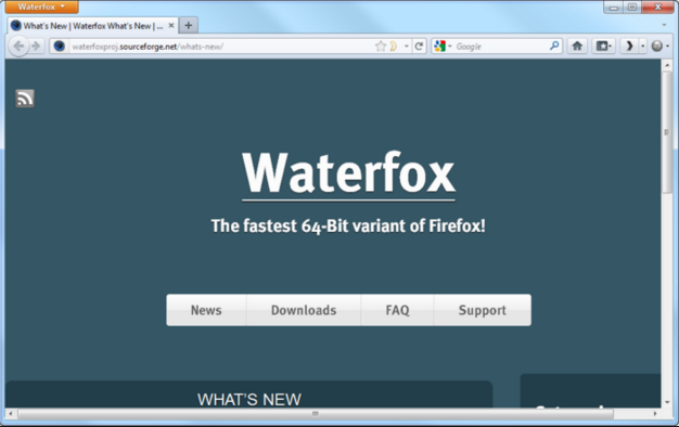 Download Waterfox 56.0.4 Latest