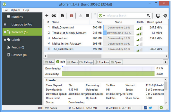 utorrent 2018 Free Download for PC Latest Version