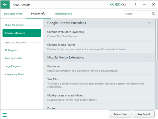 Kaspersky System Checker 1.2.0 Free Download