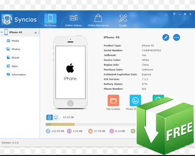 Download Syncios 2018.6.3.1 Latest Version