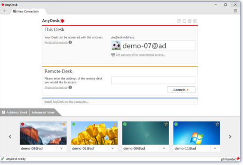AnyDesk 4.0.1 Free Download Latest Version
