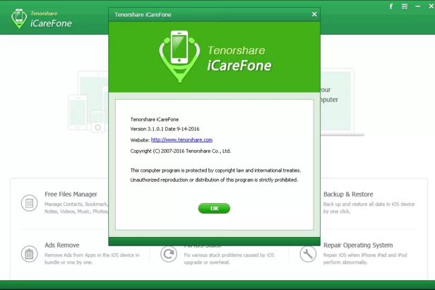 Tenorshare iCareFone 2018 Download Latest Version