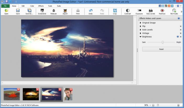 Download PhotoPad Image Editor 2019 Latest Version