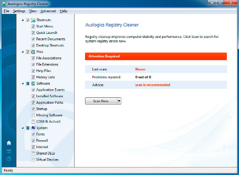 Download Auslogics Registry Cleaner 7.0.13.0 Latest Version