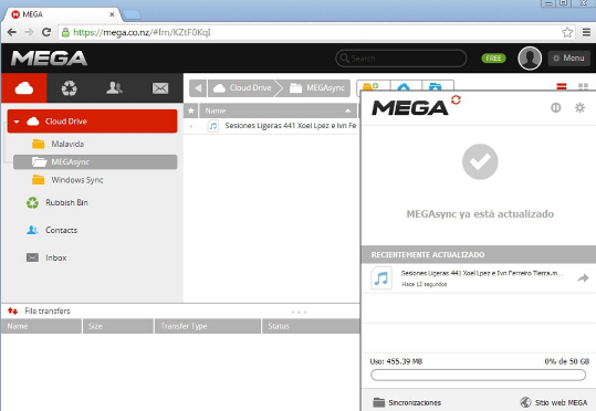 Download MEGAsync 3.6.7 Latest Version
