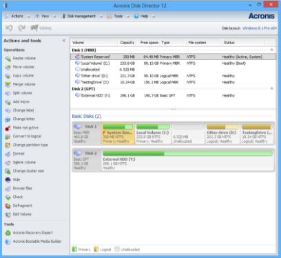Download Acronis Disk Director 12.0.96 Latest Version