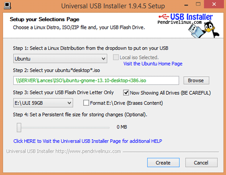 Universal USB Installer 1.9.8.5 for Windows Download