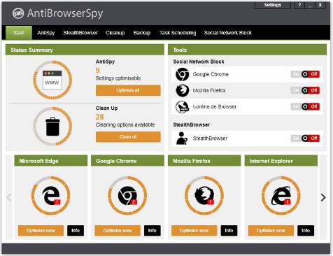 AntiBrowserSpy 2019 Free Download Latest Version