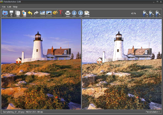 FotoSketcher 3.40 Free Download Latest Version